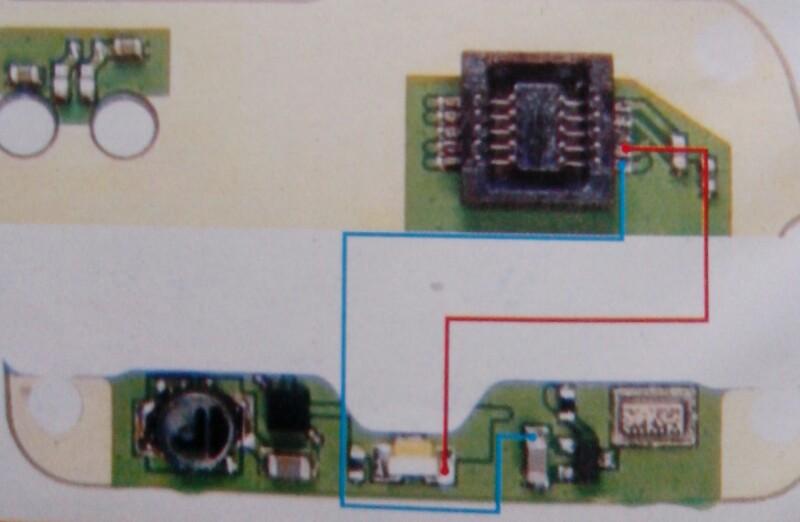 Nokia 1110 Display  U0026 Keypad Light Fault Jumper