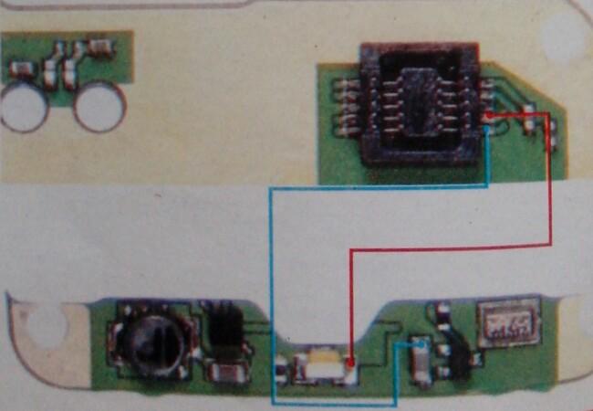 Nokia 1600 keypad backlight fault jumper | Hi-Tech Mobile