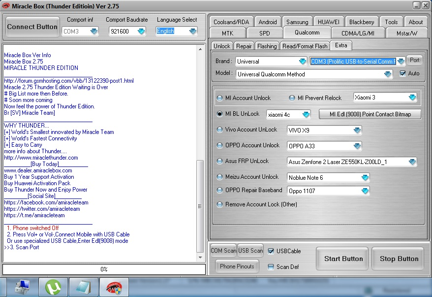 Mi 5A MIUI9 frp unlock bootloop issue Success | Hi-Tech